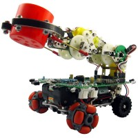 Dagu - Mr.Tidy Arduino Wheeled Arduino AVR Mobile Robot With 2DOF Gripper