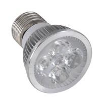 E27 4W 4LED LED Light Bulb 100-240VAC Light Lamp-White