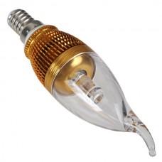Gloden E14 Base 3W Candle Light LED Lamp-White