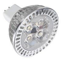 MR16 4W 4-LED 3200K 300-Lumen Light Bulb -Netural White (12V)