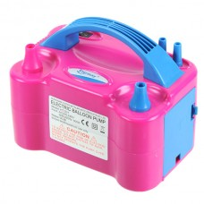 650W Portable Two Nozzle Electric Balloon Air Pressure Pump For Party