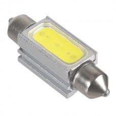 """41mm 1.6"""" 1.5W High Power LED Light Bulb Festoon Dome Car Interior Light White 12V"""
