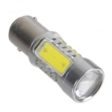 1157 S25 7.5W 9V-30V High Power White Car Brake Stop Light with Optical Glass Convex lens