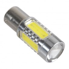 1156 9V-30V High Power Bright 7.5W LED Back Up Backup Reverse Light with Optical Glass Convex lens
