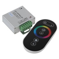RF Wireless Touching Remote Controller For LED RGB Strip 12V/24V RGB Controller-Black