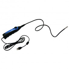 98AT Waterproof USB Snapshot Endoscope Inspection Camera with 6 White LED Light - Blue