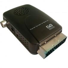 Mini Scart  Digital Terrestrial Receiver DVB-t 801