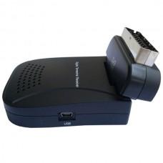 Mini Scart Digital Terrestrial Receiver Multi Media Player DVB-T803