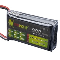High Power LION  Power 7.4V 900M 25C Rechargeable Polymer Lithium Battery
