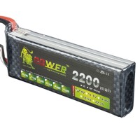 High Power LION 7.4V 2200M 25C Rechargeable Polymer Lithium Battery