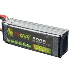 High Power LION  Power 11.1V 2200M 40C Rechargeable Polymer Lithium Battery