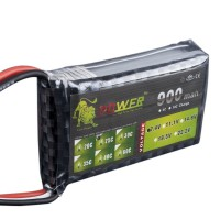 High Power LION 7.4V 900MAH 25C Polymer Lithium Battery