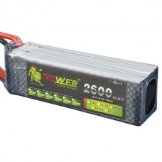 High Power LION 14.8V 1200M 30C Rechargeable Polymer Lithium Battery
