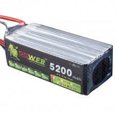 High Power LION 22.2V 5200MAH 30C Rechargeable Polymer Lithium Battery