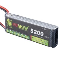 High Power LION 7.4V 5200MAH 30C Rechargeable Polymer Lithium Battery