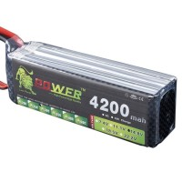 High Power LION 14.8V 4200MAH 30C Rechargeable Polymer Lithium Battery