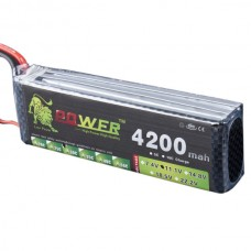 High Power LION 11.1V 4200MAH 30C Rechargeable Polymer Lithium Battery