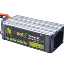 High Power LION 22.2V 2200MAH 35C Rechargeable Polymer Lithium Battery