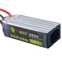 High Power LION 22.2V 2800MAH 35C Rechargeable Polymer Lithium Battery
