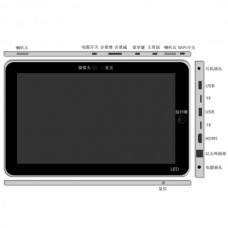 "10.2"" Touch Screen MID Android 4.0 Tablet PC 512GB/8GB WIFI USB 3G M10014"
