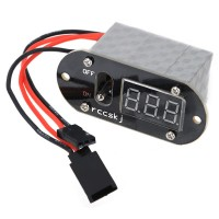 20A Large Current Switch Harness With LED Voltage Meter
