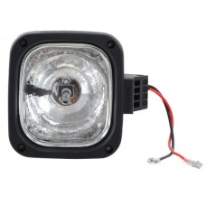 "35W 4.5"" Square H3 HID Xenon Blub Work Light Flood Off Road Fire Engine"