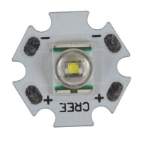 Cool White Cree XR-E Q5 Emitter on Premium Star (228LM at 1A)