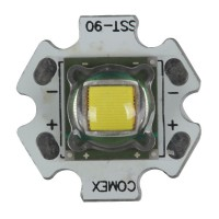 SST-90 2300LM LED Emitter 8000K White Light Bulb 4.2V Cool White