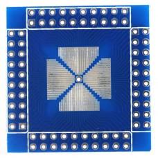 QFN/QFP/TQFP/LQFP 16-80pin to DIP 2-Side Keysets Adapter Plate
