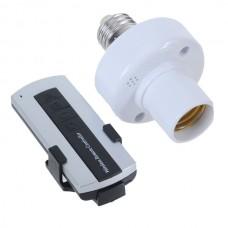 KK Wireless Remote Control Lamp E27  with Remote Controller