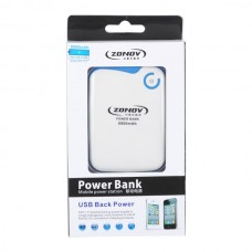 ZNT-1112 Portable Power Bank Standby Battery for iPhone ipod Mobilephone 6800mAh