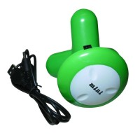 USB / 3 x AAA Powered Vibrating Muscles Electric Massager - Green