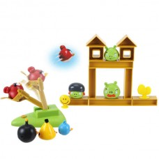 Deluxe Edition Angry Birds Combat Toys Slingshot Toys With Real Audio Full Set Of Figures