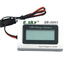 EK2-0906/000503 Esky LCD Voltage Indicator Belt-CP CX CPX Honey Bee King 4 CT