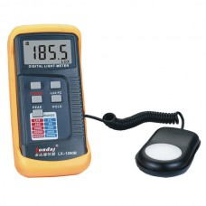 LX1330B Digital LCD 4-Range Light Level Meter 200,000 Lux Foot Candle Photo