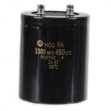 3300uF 450V Aluminum Electrolytic Capacitor 105*75*75mm