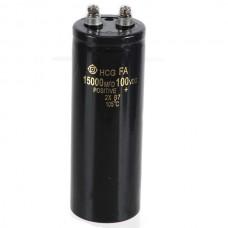 HCG FA 15000MFD 100VDC Capacitor