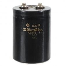 2200uF 400V Aluminum Electrolytic Capacitor 110*75*75mm