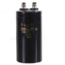 80V 22000uf Electrolytic Capacitor 120*50*50mm
