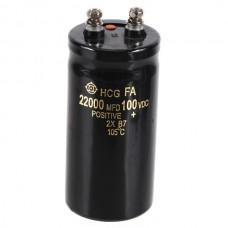 100V 22000uf Electrolytic Capacitor 120*50*50mm