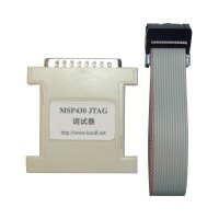 MSP430 MCU Parallel Debugger JTAG Programmer Emulator With Download Cable