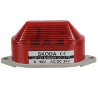 Skoda Marning Signal Light LED Revoiving Steady Lamp 24VDC Red
