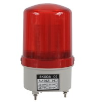 Skoda Marning Signal Light LED Turn Steady Light with Buzzer 220VAC