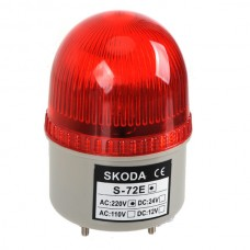 Skoda Marning Signal Light LTE Flashing Light 24VDC Red