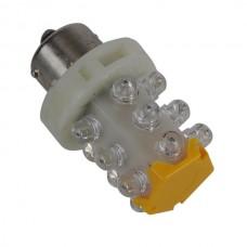 15 LEDs Lamp Car Truning Signal  LED Light Bulbs 24V-Yellow