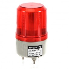 Skoda Marning Signal Light LED Rotation Steady Light 24VDC Red