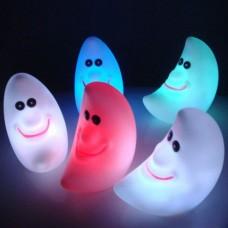 5PCS  LED Change Colors Night Light Magic Energy Novelty Lamp Moon Baby Shape