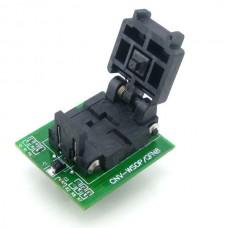 MLP8 MLF8 QFN8 to DIP8  Programmer Adapter Test Socket Converter
