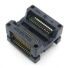SOP28/SO28/SOIC28 (OTS-28-1.27-04 ) Enplas IC MCU Test Socket Programmer Adapter