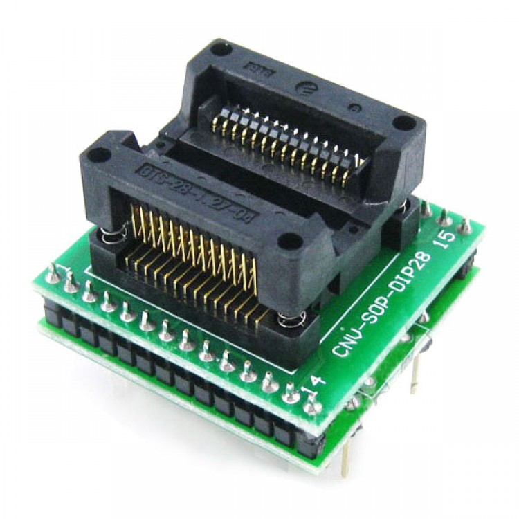 SOP28 SOIC28 SOP28 TO DIP28  Universal Programmer Adapter